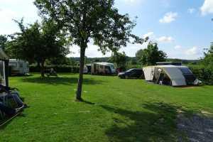 Kempeerveld bij kampeerboerderij Klein Kullen